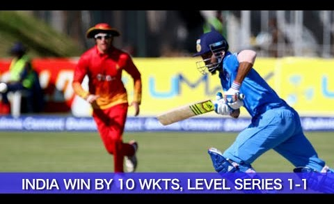 India vs Zimbabwe 2nd T20 Highlights   India rout Zimbabwe to level series