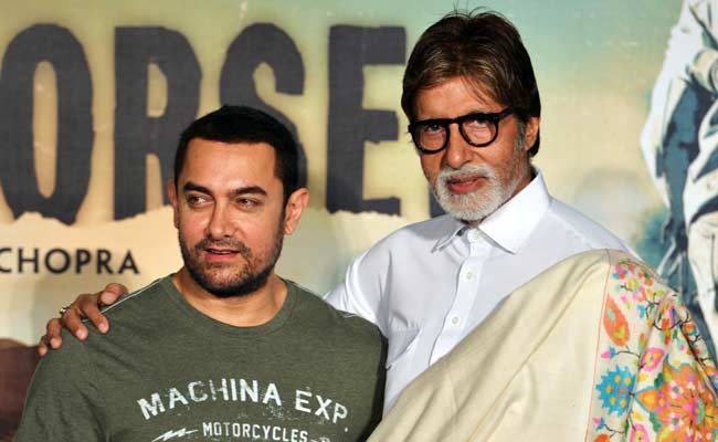 Aamir Khan Amitabh Bachchan