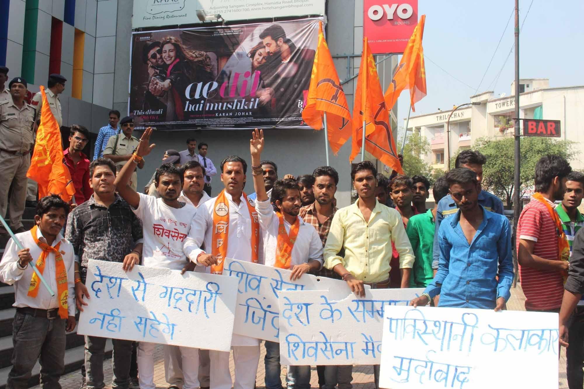 Hindu groups protest against 'Ae Dil Hai Mushkil' in Madhya Pradesh