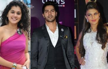 Varun Dhawan to romance Taapsee, Jacqueline in 'Judwaa 2′