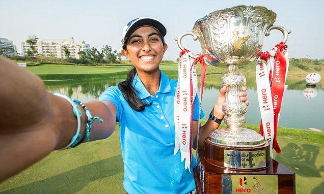 Golfer Aditi wins women's Indian Open