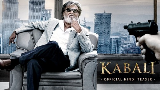 'Kabali' top trending movie trailer on YouTube in 2016