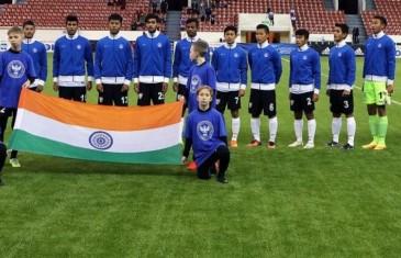 India U-17 football World Cup team beats Belarus 1-0