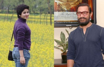Aamir Khan : Zaira, you are a role model for me