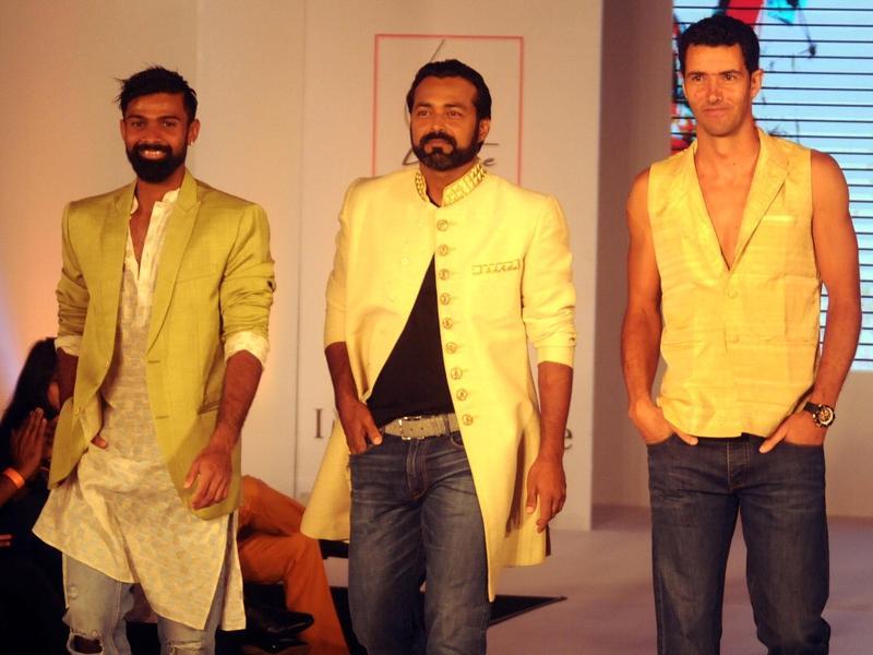 Tennis stars add glitter to Aircel Chennai Open fashion show
