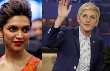 Deepika to talk about love, work on The Ellen DeGeneres Show