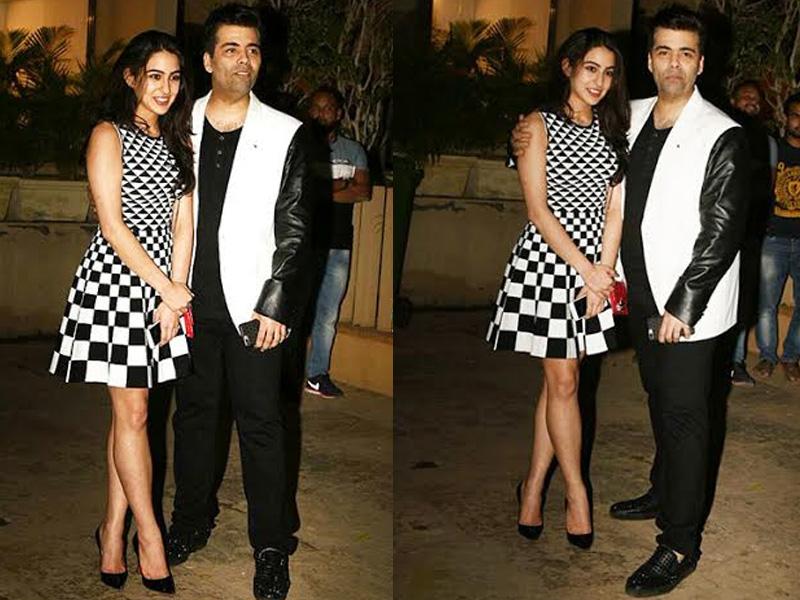 Saif confirms daughter Sara to be launched by Karan Johar