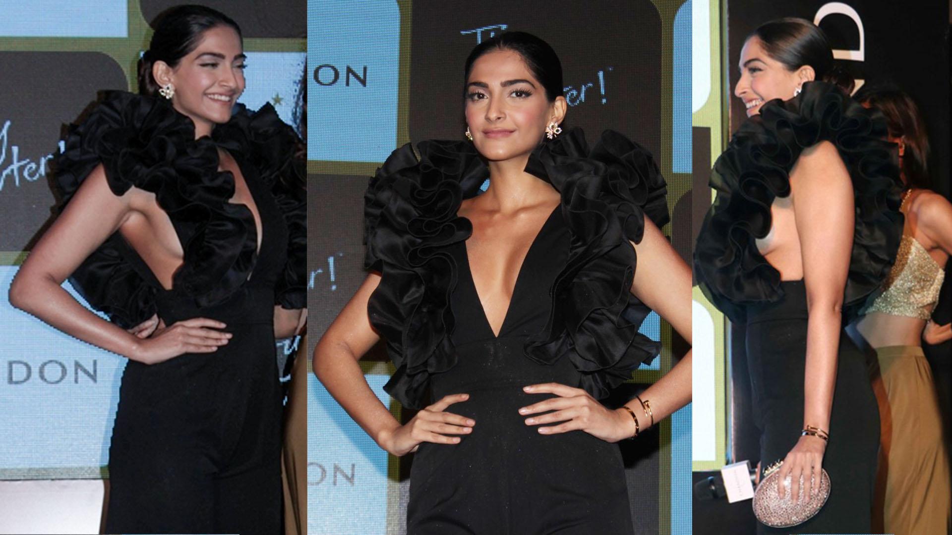 Sonam Kapoor's Bold Dress Grabs Eyeballs
