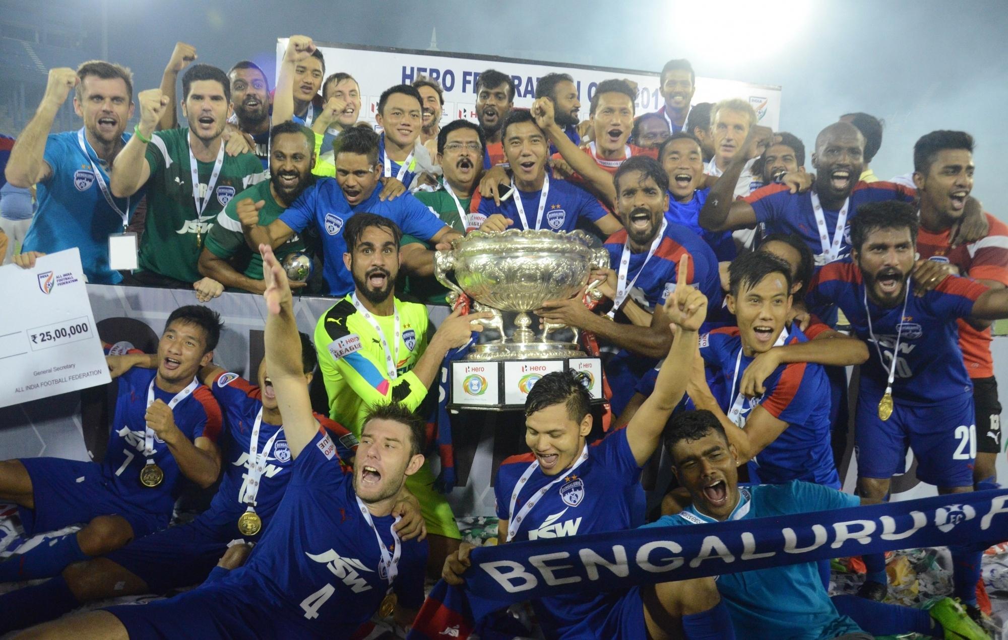 Bengaluru FC beat Mohun Bagan 2-0 to lift Federation Cup