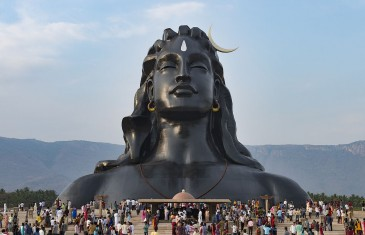 'Adiyogi' Shiva bust enters Guinness World Records
