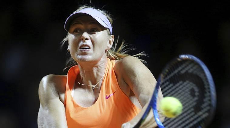 Sharapova enters Madrid Open second round