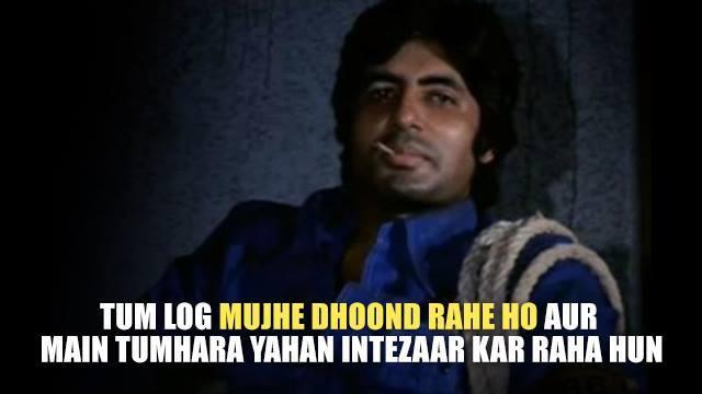 Happy Birthday Amitabh Bachchan 5 most unforgettable dialogues by Amitabh Bachchan