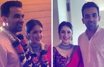 Zaheer Khan, Sagarika Ghatge wedding: Couple ties knot, reception on 27 November